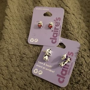 Nwt super cute 2 pair of earrings  from Claire's